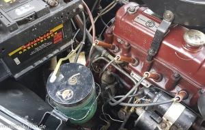 MG Magnette alter Motor