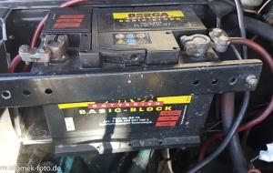 MG Magnette alte Batterie