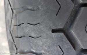 MG Magnette alte Reifen