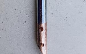 MG Magnette neues 10 mm Ansaugrohr mit zusätzlichen Bohrungen im Unteren Bereich