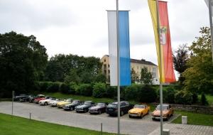 MG Treffen Altmühltal 2014 Ausfahrt am Samstag