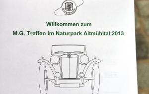 MG Treffen Weißenburg / Altmühl 2013