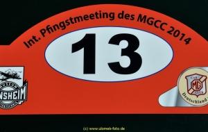 MGCC Internationales Pfingstmeeting 2014 in Sinsheim