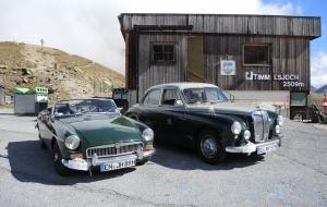 Rückfahrt von MG in the Alps