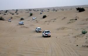 Dubai Jeepsafari und Abendessen im Wüstencamp 24.10.11