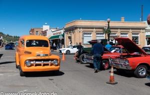 Williams Arizona Oldtimer Treffen an der Route 66, Sedona, Wüste Stop bei Kakteen