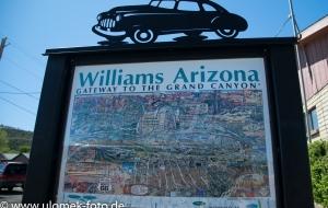 Williams Arizona Oldtimer Treffen an der Route 66
