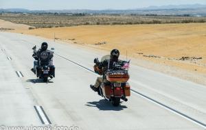 durch Mojawe Wüste nach Las Vegas, Outlet