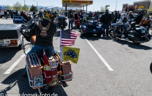 Fallen Soldier Cart Escort durch Mojawe Wüste nach Las Vegas