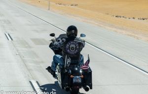 durch Mojawe Wüste nach Las Vegas