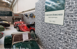 Techno Classica Essen, MG Car Club Standfete, 07.04.17